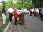Press Conference with Mayor Hoffmann and County Executive Leggett.