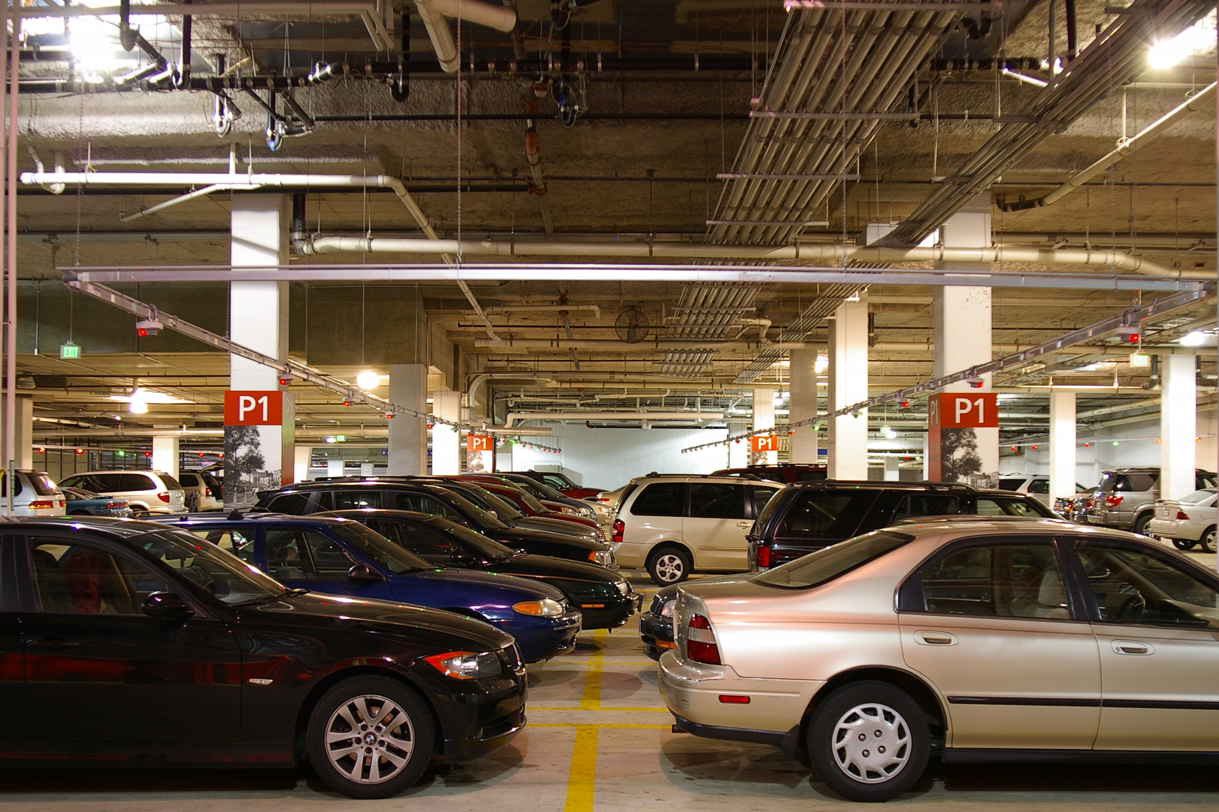 Free parking in town square a new york perspective max for New york city parking garage