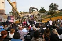 President Barack Obama visits Rockville, Maryland.