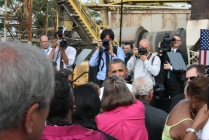 President Barack Obama visits Rockville, Maryland.
