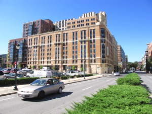 Cambria Hotel and Suites in downtown Rockville, MD.
