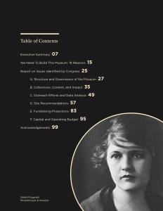 Zelda Fitzgerald on National Women's Museum report.