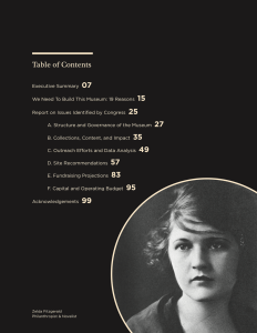 Zelda Fitzgerald on National Women's Museum report.