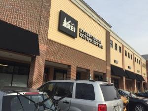 REI store in Rockville.